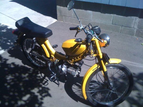 Value of jc swinger 2 moped