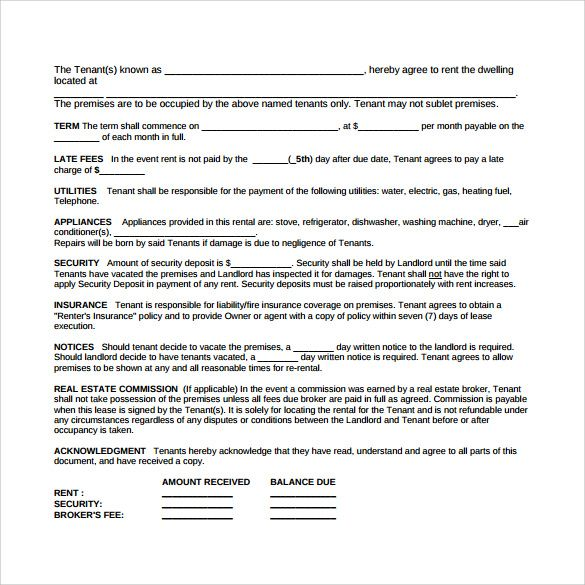 Pin by _Ecletic_Witch _ on rental agreement Pinterest - sample tenancy agreement