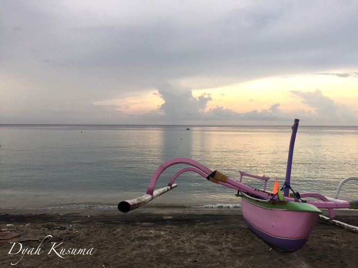 Stunning boat at Nipah beach, North Lombok, Indonesia