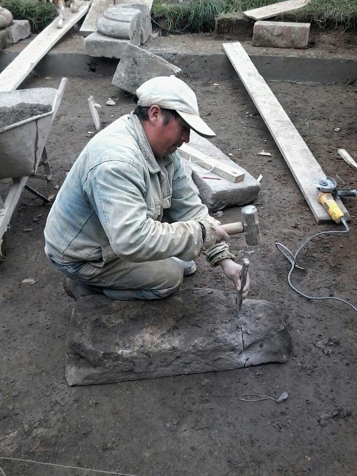Patio en piedra