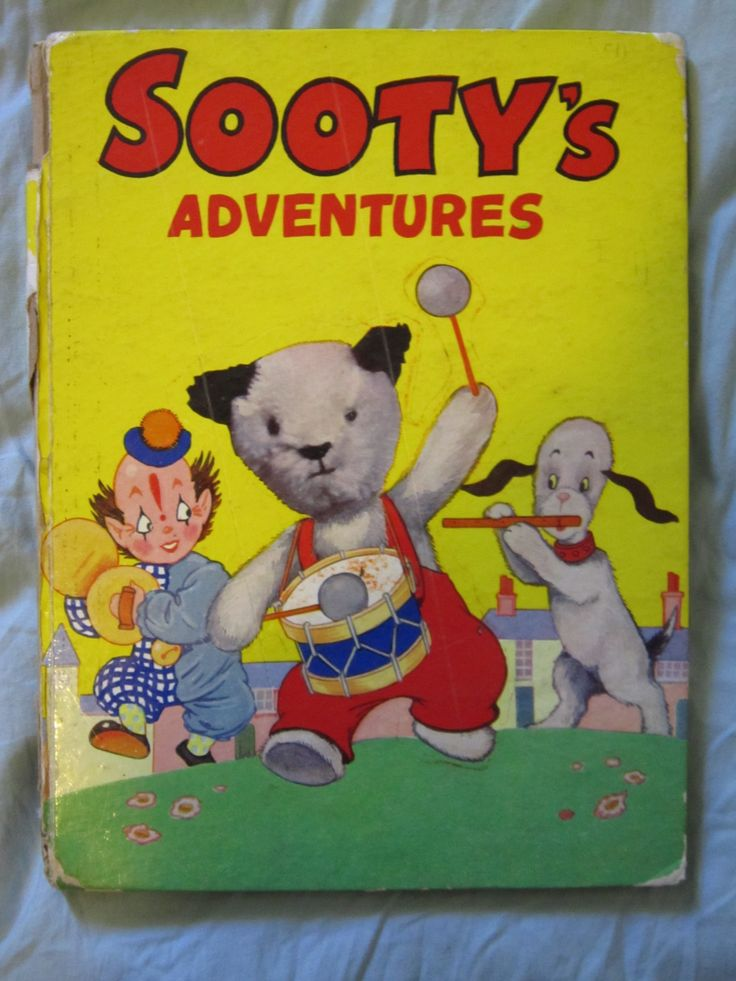 Sooty's adventures book