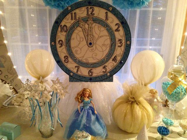 Cinderella Princess Birthday Party to Go Box
