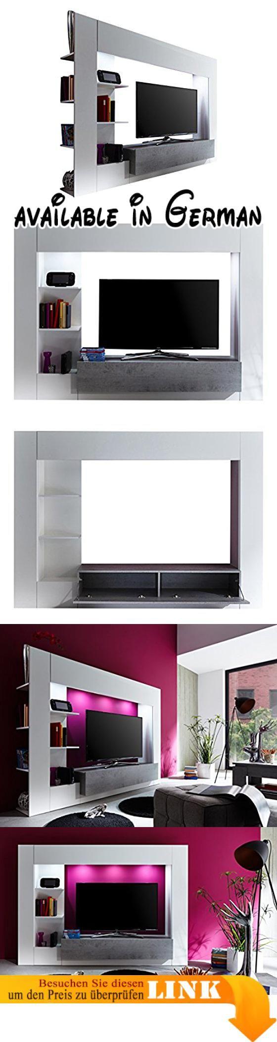 wohnzimmermobel betonoptik : Die Besten 25 Tv M Bel Betonoptik Ideen Auf Pinterest Moderne
