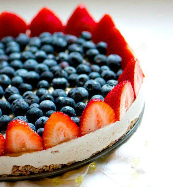 healthy 4th of july cake