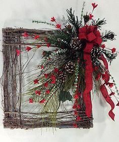 Crooked Tree Creations | Christmas Floral Decor, Wreaths And Arrangements From C…