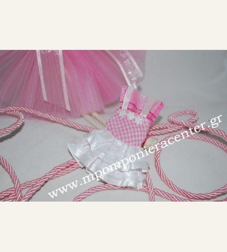 Κέρασμα γέννας φορεματάκι υφασμάτινο