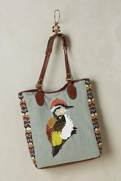 Gorgeous bird bag from Anthropologie