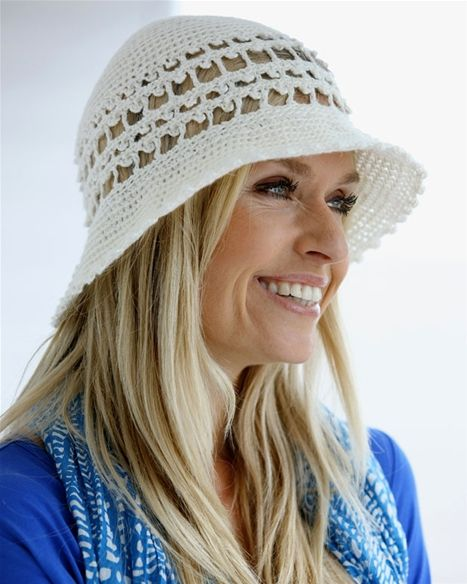 Hækl selv: Hat - Hendes Verden