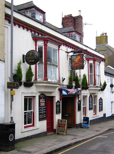 ♕ The Bell Inn - Helston, Cornwall http://redbenchvintage.tumblr.com/post/4427891196/cornwall-inn