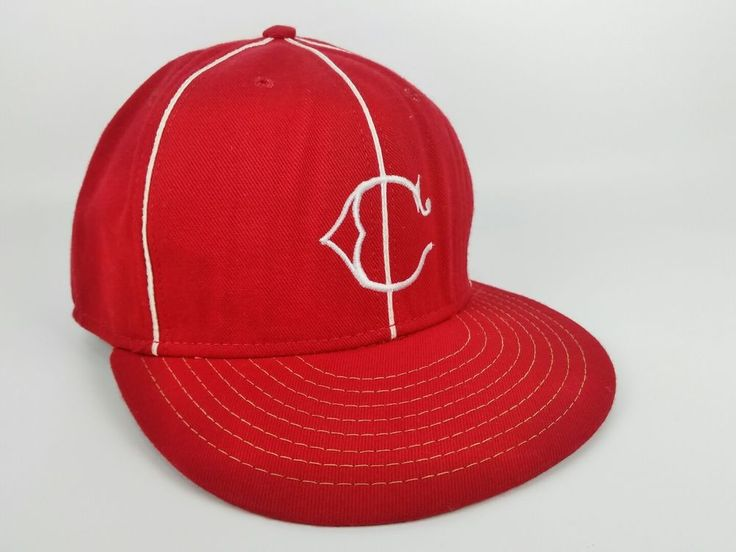 Vintage AMERICAN NEEDLE Cincinnati REDS MLB Cap COOPERSTOWN COLLECTION Hat 7 1/4 #AmericanNeedle #CincinnatiReds