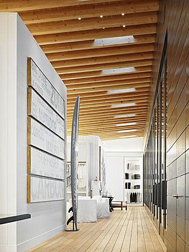 James Perse Store Malibu - Photo Joe Fletcher - Marmol Radziner Architects