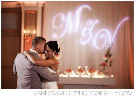 The couple's first dance at the Poinsettia Ballroom Destination Wedding at El Conquistador Resort & Las Casitas Village | Puerto Rico | ElConResort.com Vanessa Velez Photography