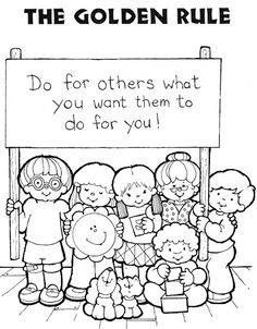 Image Result For Free Printables Coloring Sheets Manners Sharing