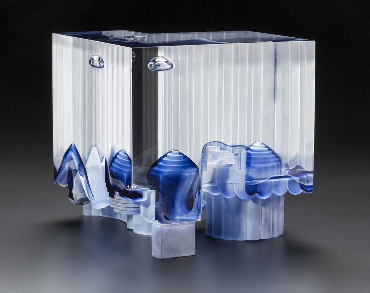 STEVEN WEINBERG | Cast Glass Sculpture by Steven Weinberg at - Schantz Galleries