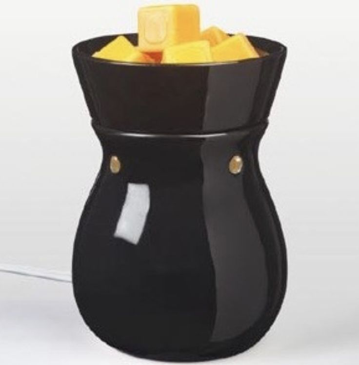 Solid Black Electric Wax Warmer, Wax Melter