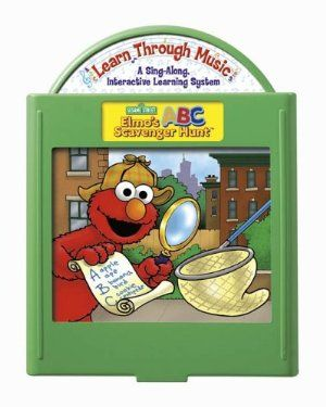 Fisher-Price: Learn Through Music Learning System - Elmo's ABC Scavenger Hunt Cartridge by Fisher Price. $9.99. Learn early reading and language skills through a fun alphabet search with your Sesame Street friends. Elmo's ABC Scavenger Hunt cartridge includes lessons in: A-Z letter identification, Phonics, Word Recognition and Matching Letters to Picture Words. For use with the Learn Through Music Sing-Along Interactive Learning System (sold separately).