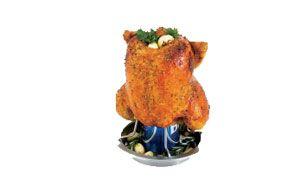 Stojak do grillowania kurczaka