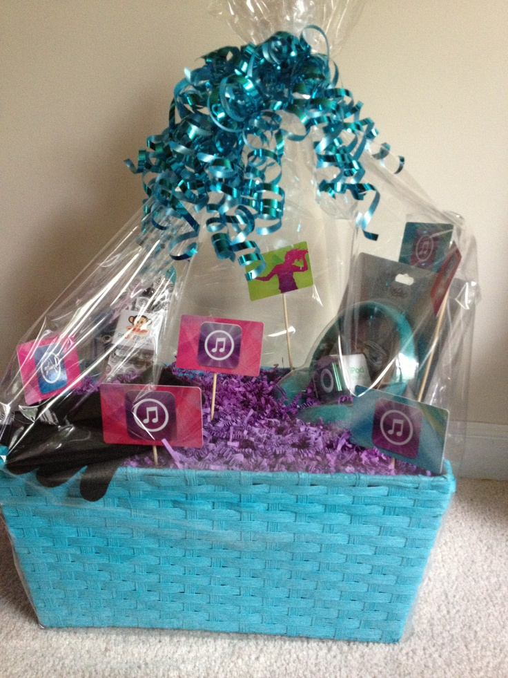 I Tunes Basket For Raffle