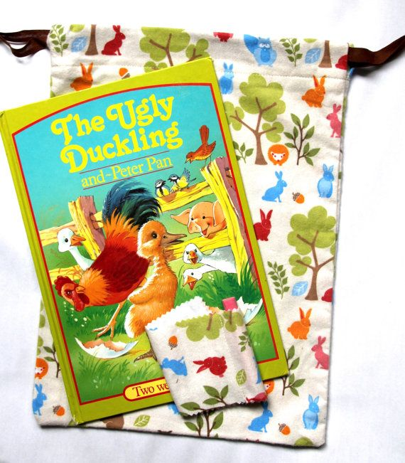 The Ugly Duckling Children's Book Chalkboard by HarrysSuitcase