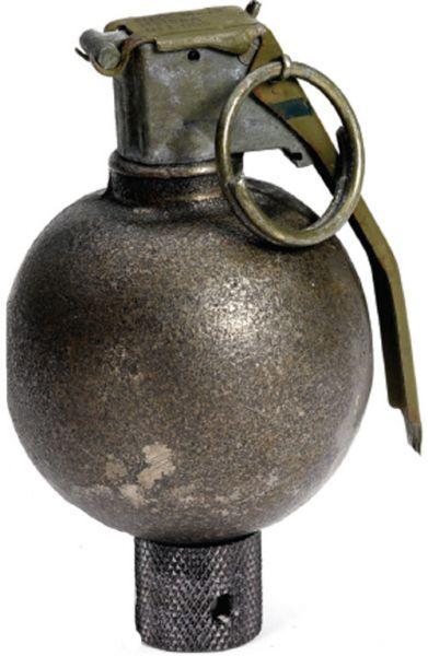Vintage WWII Baseball Grenade Shift Knob