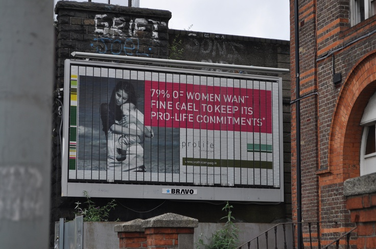 Pro Life Campaign have launched a new Billboard Campaign highlighting the recent opinion poll, which shows that 79% of Irish women want Ireland to stay pro life