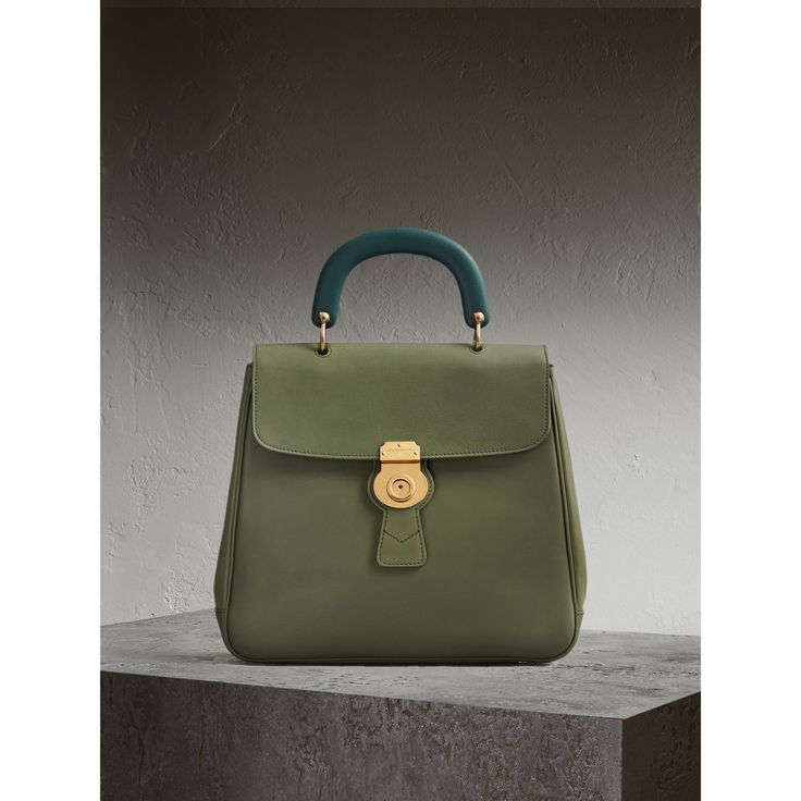 The Medium DK88 Top Handle Bag £1,695 Celadon green