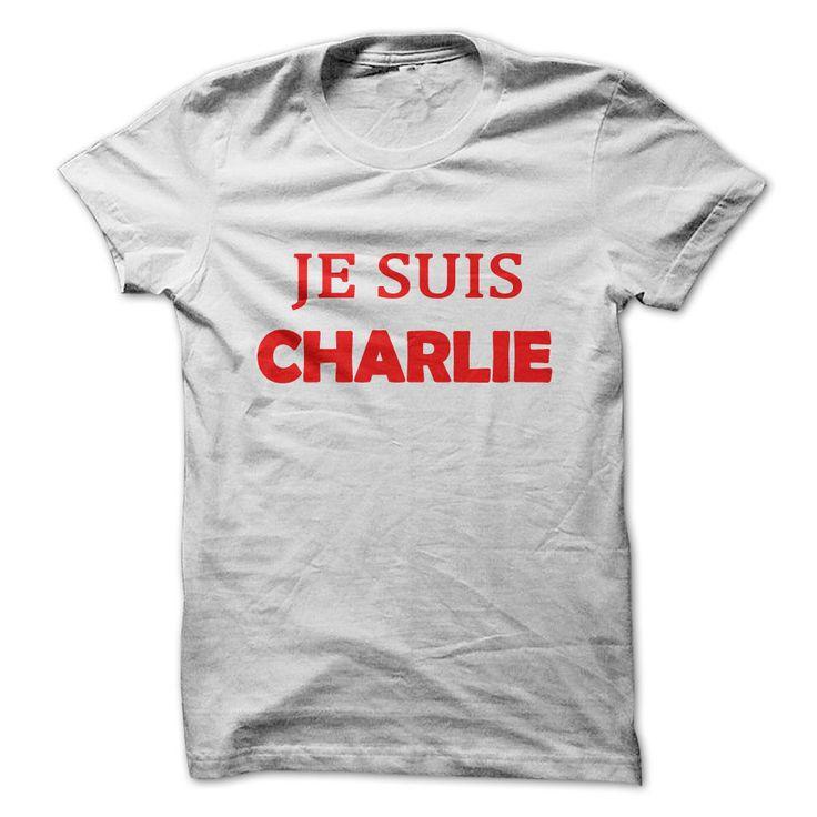 """Je Suis Charlie"" T-shirts White T Shirt, Hoodie, Sweatshirt"
