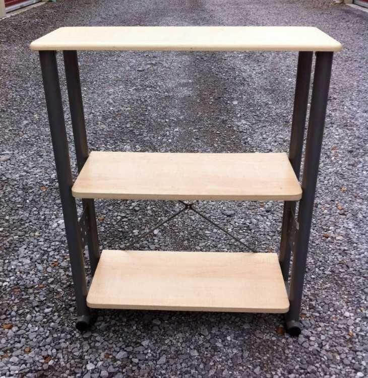 ikea wood and metal shelf 0d 0a 0d 0a11 c2 bd 22 x 27 c2 bd 22 x 33 rh pinterest com