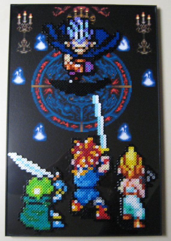 Magus Boss Fight Chrono Trigger by Z3r0k3w1 on Etsy