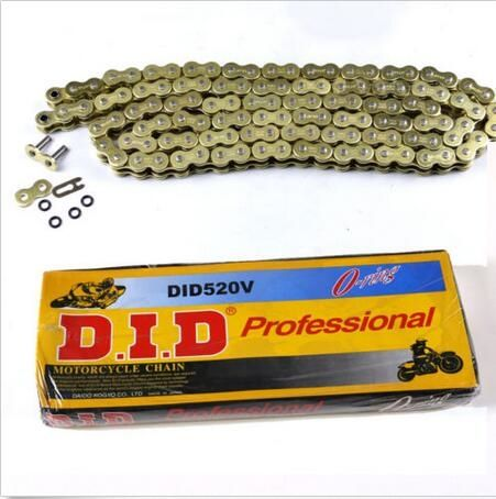 47.99$  Watch here - 520 pitch 120 link Gold heavy-duty O Ring Drive chain for MX dirt pit bikes  #SHOPPING