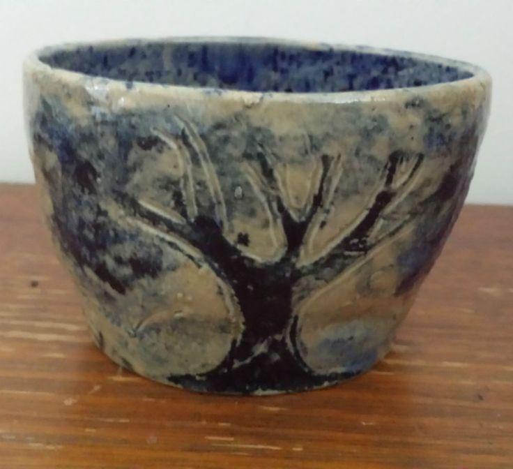 Arthur Boyd Pottery Bowl / Vase / Pot - Gumtree & Post & Rail Fence