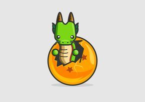Dragon Ball minimalista