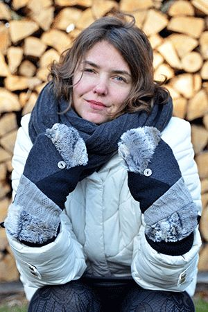 Mitaines chaleureuses par Rien ne se perd, tout se crée... www.rienneseperd.com