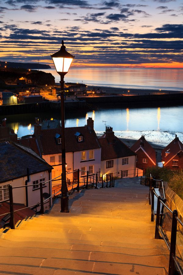 Whitby Steps   Yorkshire   England   Photo By Rick Bowden