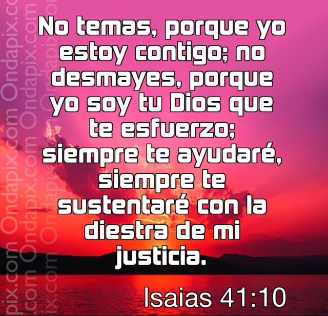 Cajita de Oracion: No Temas... #Dios esta en control.....