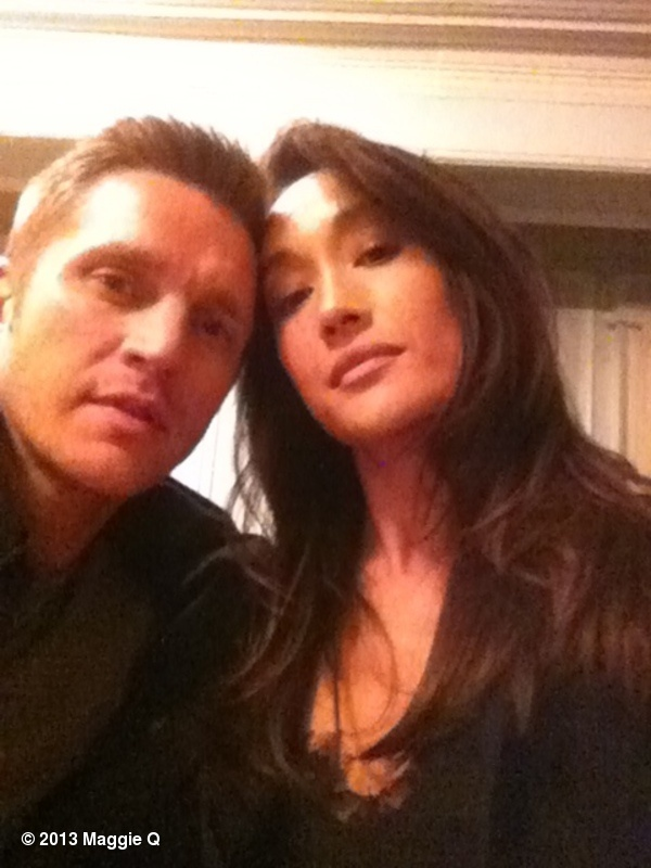 Michael is a great character, but Owen is adorably protective of Nikita and respects her. Love this pic of Devon Sawa (Owen) and Maggie Q (Nikita).  Maggie Q's photo: Happy Valentines day from the set of NIKITA! Owen and I are wishing you much love and happiness today!!!