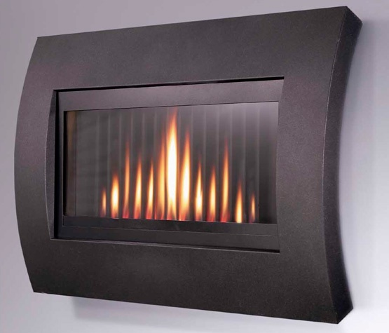 "The Curve ""hang-on-the-wall"" fire with its sleek lines, textured fascia and glass front, which compliments the unique and complex flame pattern created by an undulating back panel. And this stunning fire is easy to install as it literally hangs on the wall, rather than slotting into the structure. £784.14: Curves Wall, Gas Fire, Natural Gas, Curves Natural, Complex Flames, Contemporary Wall, Flavel Curves, Flavel Natural, Patterns Create"