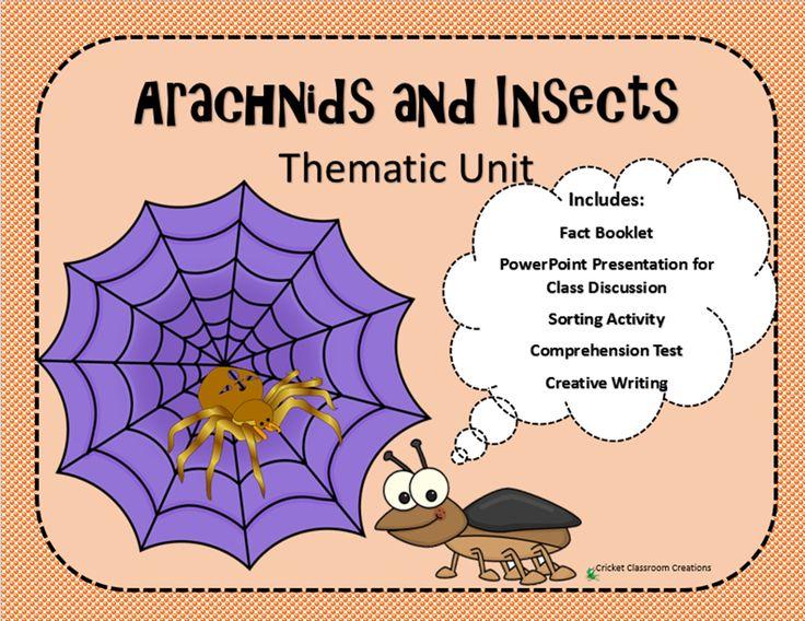 Arachnid Unit Study 21 best images about T...
