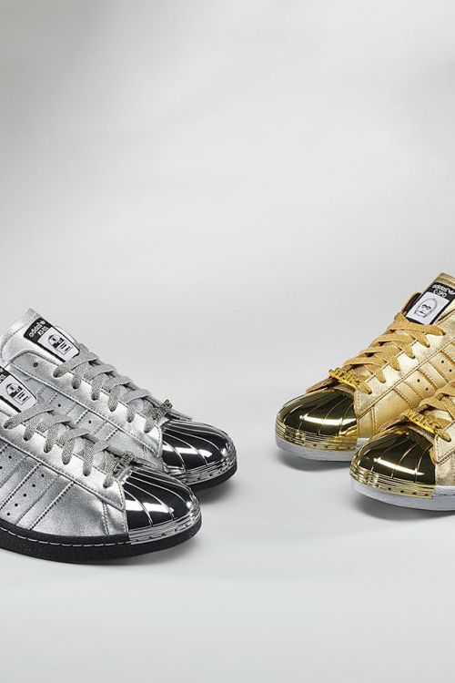 ADIDAS. SUPERSTAR GOLD SHELL TOE | Кроссовки, Федора