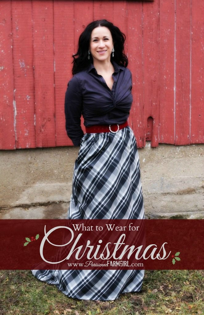 What to Wear for Christmas - Parisienne Farmgirl