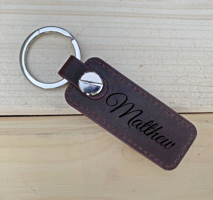 Mens Gift, Unique Gifts for Men, Keychain, Gifts for Men, Gifts for Boyfriend, Dad Gift, Husband Gift, Leather Key Chain, Leather Key Fob