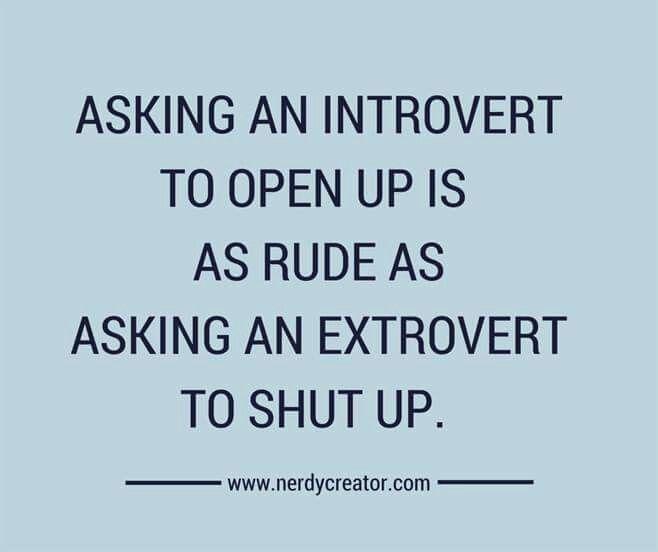 Dating an introvert extrovert