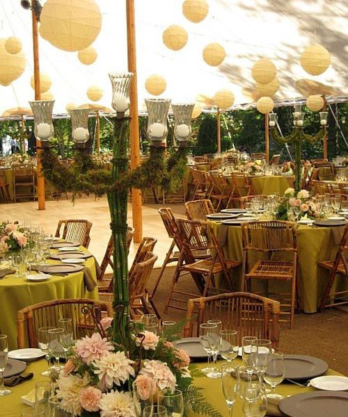 14 best outdoor wedding decorations images on pinterest glamping outdoor wedding table decorations ideas junglespirit Gallery