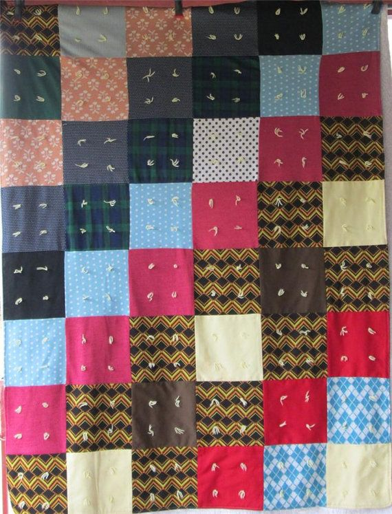 Knitted Quilt Block Patterns : Best images about double knit projects on pinterest
