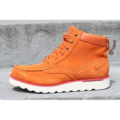 Botas Nike Kingman Caminata Acg Piel Naranja #25.5mx Leather - $ 1,599.00