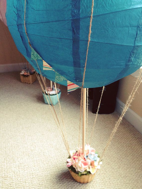 Best baby shower images on pinterest hot air balloons