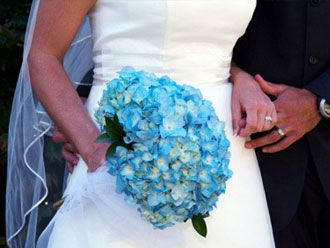 Bouquet Azul -- Fotografía: Perfect Wedding Day