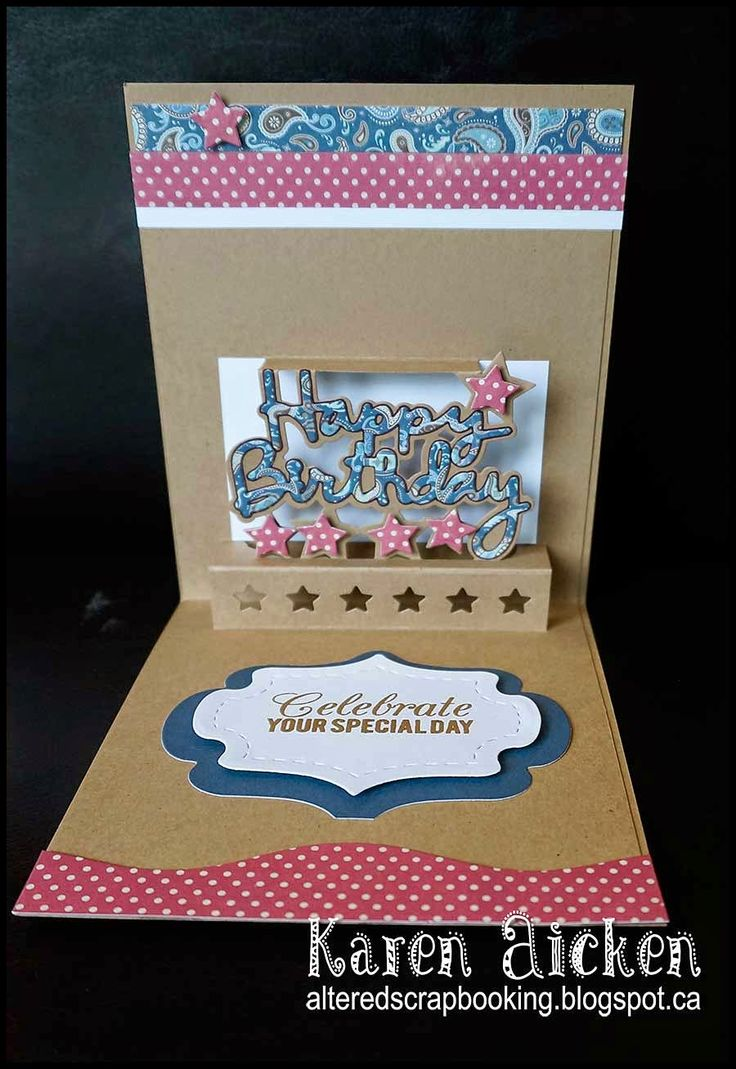 65 Best Cards Happy Birthday Pop Up Pop It Ups Images On Pinterest