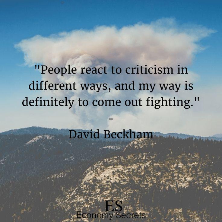 David Beckham quotes 14