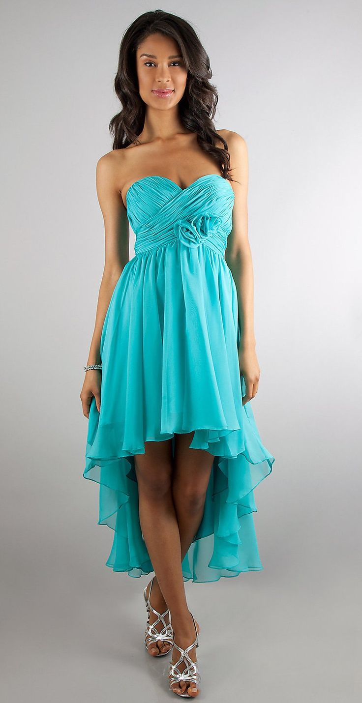 Think, that Blue high low semi formal dresses speaking
